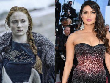 """Priyanka Chopra afirma que não pergunta nadinha sobre """"Game of Thrones"""" para a cunhada Sophie Turner"""