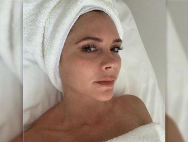 Victoria Beckham agora só quer saber de beber água engarrafada em dia de lua cheia. Oi?