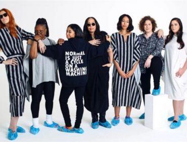 """Depois de trip frustrada pela Grécia, Whoopi Goldberg lança marca de roupas para """"público real"""". Oi?"""