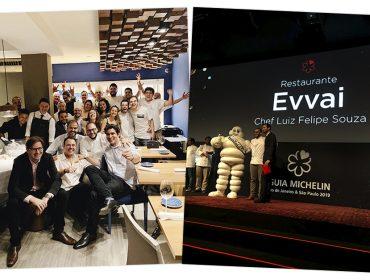 Evvai é a único restaurante paulistano a ganhar uma estrela nova no Guia Michelin 2019