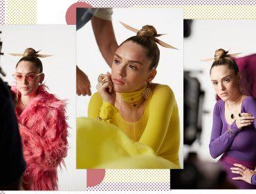 Isabelle Drummond estrela campanha da Animale ORO, que inaugura duas lojas no Rio