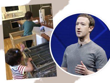 Mark Zuckerberg compartilha vídeo de momento em família em seu FB e seguidores adoram
