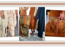 Desejo do Dia: as bolsas de Inês Schertel usadas no desfile da A. Niemeyer para Riachuelo