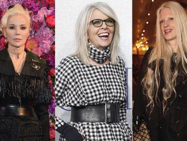 Cabelo grisalho ganha força entre as mulheres e experts dão dicas para quem quer aderir à tendência