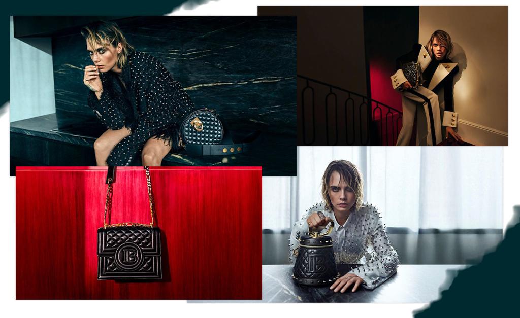 c73b6aeb6 Cara Delevigne e Balmain criam peças com a essência rebelde da modelo e  atriz