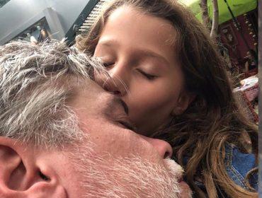 """Fábio Assunção se derrete em aniversário da filha, Ella: """"Você me faz aprender a difícil arte de conquistar alguém"""""""
