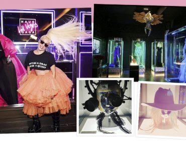 Lady Gaga inaugura exposição com itens icônicos de sua carreira, inclusive o polêmico vestido de carne