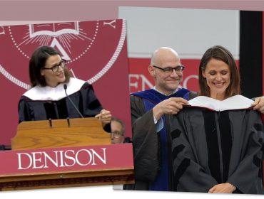 Jennifer Garner volta à universidade e arrasa com discurso divertidíssimo. Vem!