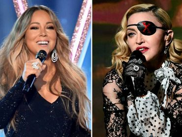 Chateada! Madonna manda indireta para Mariah Carey durante o Billboard Music Awards…