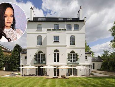 Vem conhecer de perto o château onde Rihanna está morando em Londres. Um luxo!