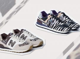 Collab entre Animale e New Balance traz os modelos de tênis 'Zebra' e 'Onça'