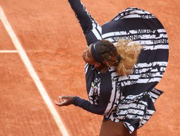 Serena Williams rouba a cena em Roland Garros com look criado especialmente para ela e que representa sua vida