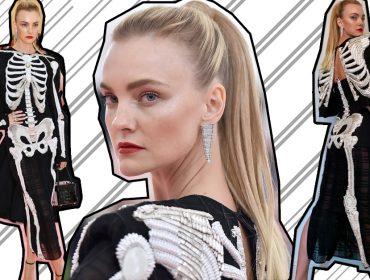 """Carol Trentini conta os bastidores do MET Gala e a escolha de seu """"vestido esqueleto"""" que vale R$ 90 mil"""
