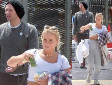 Chris Martin é clicado com loira misteriosa dias depois de terminar namoro com Dakota Johnson