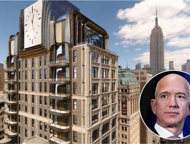 Jeff Bezos gastou mais de R$ 300 mi na compra de vários apês em NY nessa semana. E ele quer mais!