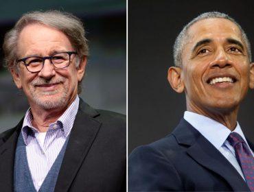 Barack Obama estaria negociando colaboração com Steven Spielberg para seus projetos na Netflix
