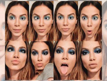 Anitta canta, dança, empreende e agora ataca de blogueira de beleza. Dá uma espiada no tutorial!