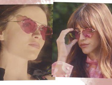 Desejo do Dia: os novos óculos divertidos da Miu Miu em formato de nuvem
