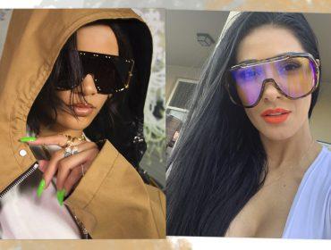 De Rihanna a Simaria: os óculos-máscara estão fazendo a cabeça de celebs do mundo todo