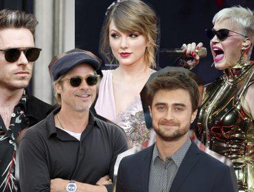 Brad Pitt, Taylor Swift, Katy Perry… Celebs e suas táticas para enganar os paparazzi! Vem saber