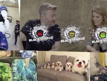 Isso é muito Black Mirror! Charlie Brooker e Annabel Jones, criadores da série, analisam posts brasileiros…Entenda!