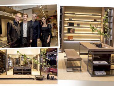 Mostrando cada vez mais reconhecimento, a Ornare participou de feiras de design em Milão e Nova York