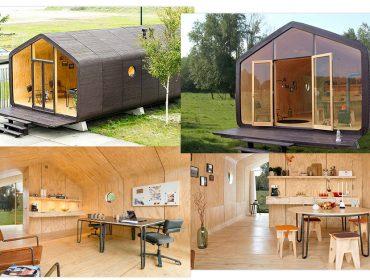 'La Casa de Papelão': vem conhecer um lar sustentável, desmontável e que pode durar até cem anos!
