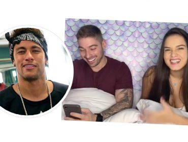 """Neymar curte foto de influencer e leva indireta do namorado dela: """"Quem vai levar pra Paris sou eu"""""""