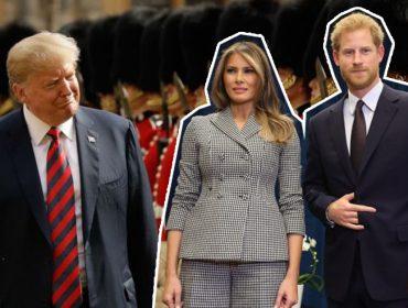 Príncipe Harry recebe Trump depois do presidente americano chamar Meghan Markle de desagradável