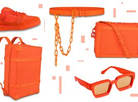 Orange is the new black: Virgil Abloh cria coleção-cápsula totalmente laranja para a Louis Vuitton