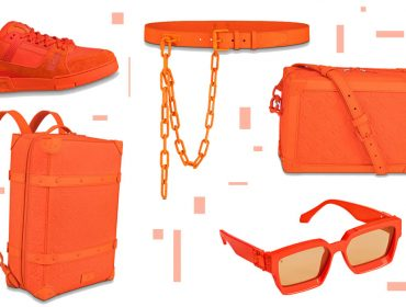 Orange is the new black: Virgil Abloh cria coleção-cápsula totalmente laranja para a Louis Vuitton