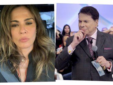 """Luciana Gimenez rebate críticas de Silvio Santos sobre visual e solteirice: """"Não tem nada de errado comigo"""""""