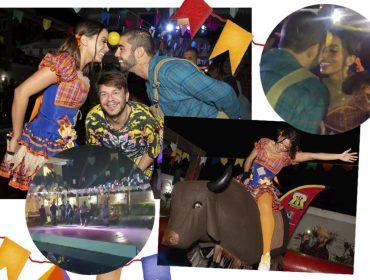 Olha a cobra! Anitta reúne Pedro Scooby, Neymar e Gabriel Medina em arraiá dos bons. Aos detalhes!
