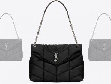 Desejo do Dia: a nova bolsa LouLou Puffer da Saint Laurent para um fim de semana chique e despojado