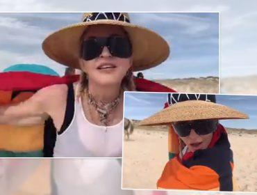 Confirmado! Madonna sobe no palco com seu novo show no Pride Island, em Nova York… Aos detalhes