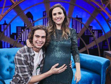 Tatá Werneck recebe Rafael Vitti em gravação da nova temporada do Lady Night