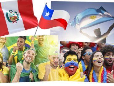 De famintos a briguentos: Pesquisa mostra como torcedores da Copa América assistem aos jogos de suas seleções