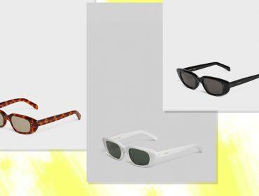 Desejo do dia: os óculos de sol com shape retrô da nova coleção da Celine
