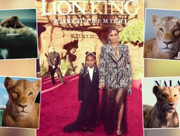 A leoa Nala rouba lugar de Beyoncé nas capas de discos e nas redes sociais… Entenda!