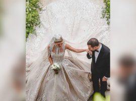 Kika Mourad e Elie Saab Jr. se casam no Líbano em cerimônia das 'mil e uma noites'. Aos detalhes