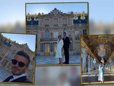 Victoria e David Beckham comemoram 20 anos de casamento em tour privê no Château de Versailles