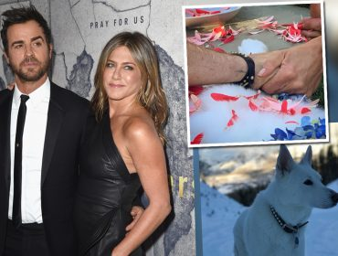 Jennifer Aniston e Justin Theroux juntos? Sim, mas não é o que vocês estão pensando…
