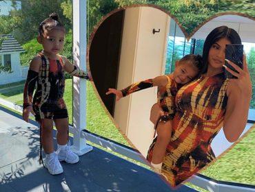 Tal mãe tal filha… Kylie Jenner e Stormi quebram a internet com ensaio para lá de fofo!