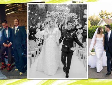 O amor está no ar! Confira as celebs que se casaram na temporada primavera-verão do hemisfério norte
