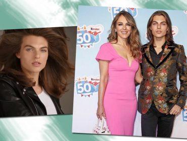 Filho de Liz Hurley estreia como modelo e semelhança com a mãe surpreende…