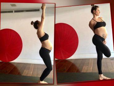 Fernanda Lima dá show de elasticidade ao mostrar sequência de yoga. Dá uma espiada!