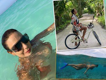 Ivete Sangalo mostra hotel de luxo com diária de até R$ 100 mil nas Maldivas e comenta boa forma