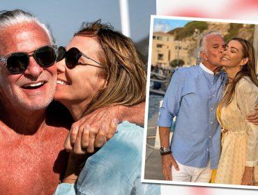 """Mônica Martelli vence a discrição do namorado ao postar muitas fotos românticas de viagem pela Itália: """"Dono do meu amor"""""""