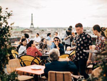 Novo point descolado de Paris é o restô vegano que fica no terraço da Galeries Lafayette
