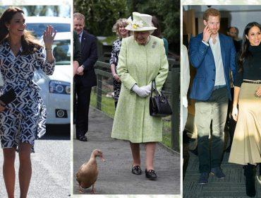Pensa que é fácil seguir os protocolos de moda e beleza da realeza? Kate e Meghan que o digam…